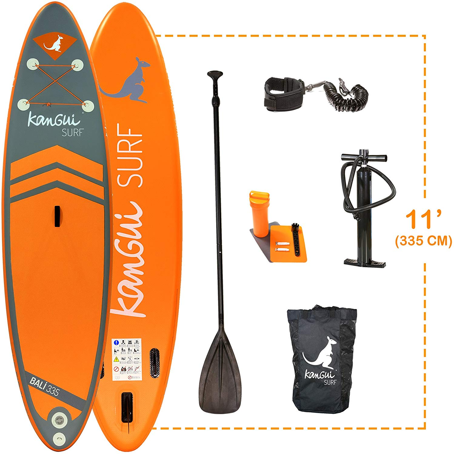 paddle gonflable Kangui - Stand up Paddle 335cm